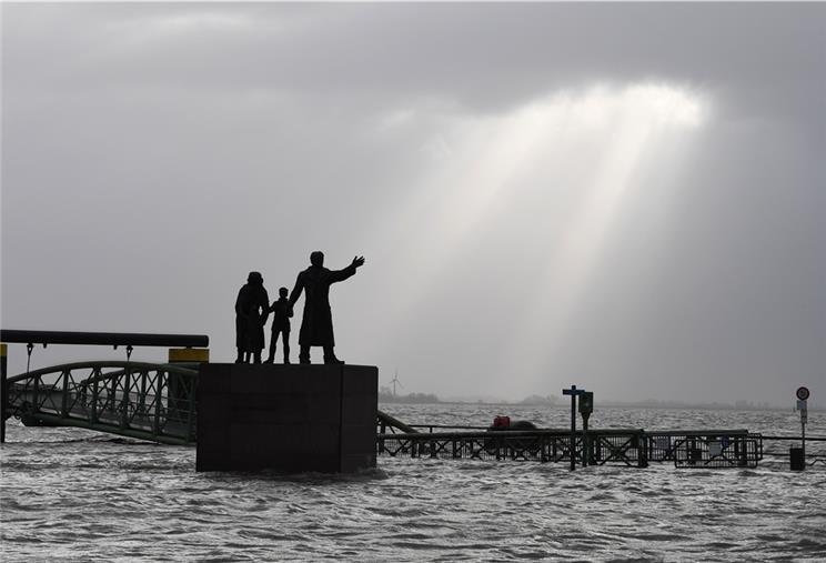 Unwetterwarnung Bremerhaven