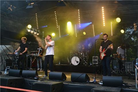 Bestes Festival-Feeling bei NIG-Rock in Bad Bederkesa.