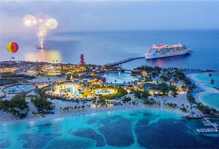 Cococay - die Privatinsel liegt in der Karibik.