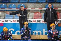 Das Trainergespann der Fischtown Pinguins: Chefrainer Thomas Popiesch (links) und sein Assistent Martin Jiranek.
