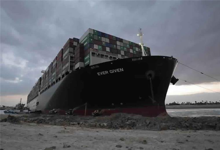 """""""Ever Given"""" im Suezkanal freigelegt"""