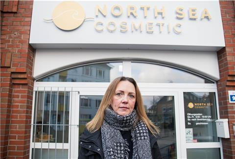 Janine Semmling, North Sea Cosmetics in Bremerhaven