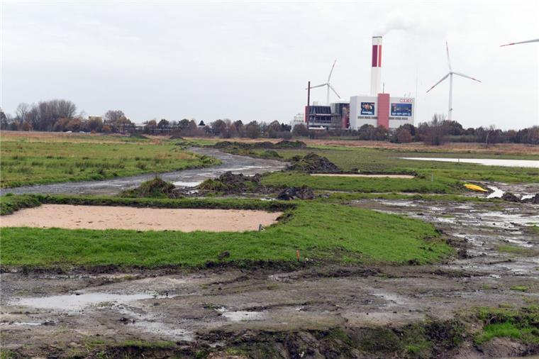 Bremerhaven: Ausbau des Golfplatzes am Bürgerpark
