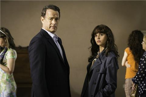 "Tom Hanks als Robert Langdon und Felicity Jones als Dr. Sienna Brooks versuchen in der Dan-Brown-Verfilmung ""Inferno"" die Welt vor einem Wahnsinnigen zu retten."