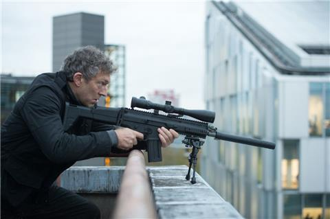 "Vincent Cassel als Asset in ""Jason Bourne""."