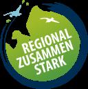 Logo: Regional. Zusammen. Stark.