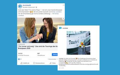 Facebook-Beiträge von nord24.de