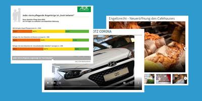 Beispiele für Native Ads auf nord24.de
