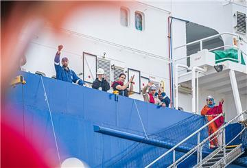 Impfen von Seeleuten startet in Bremerhaven